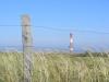 Übergang mit Leuchtturm